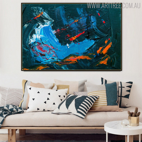 Calico Abstract Canvas Wall Art for Living Room Wall Flourish