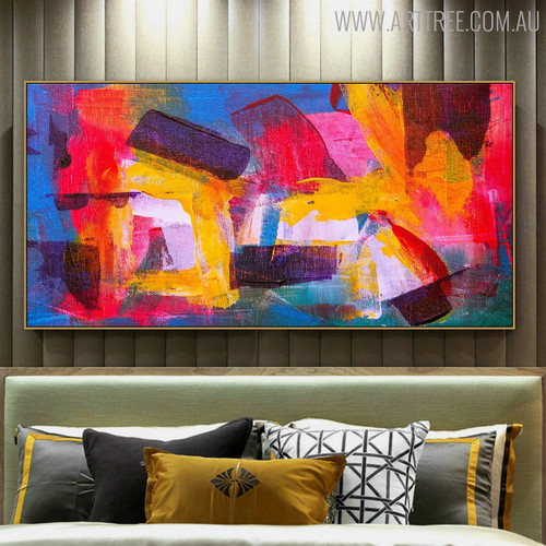 Fuse Abstract Modern Texture Framed Acrylic Draught for Interior Wall Outfit