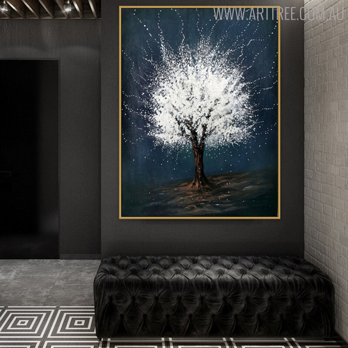 Snows Nature Handmade Portraiture for Contemporary Wall Art Gift