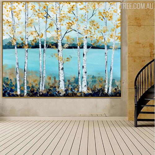 Ocean Modern Nature Knife Resemblance on Canvas for Wall Garnish