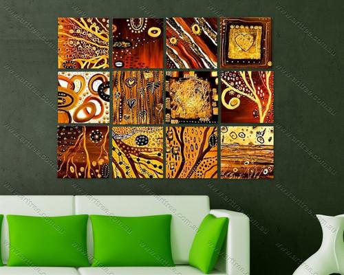 tree branch design canvas