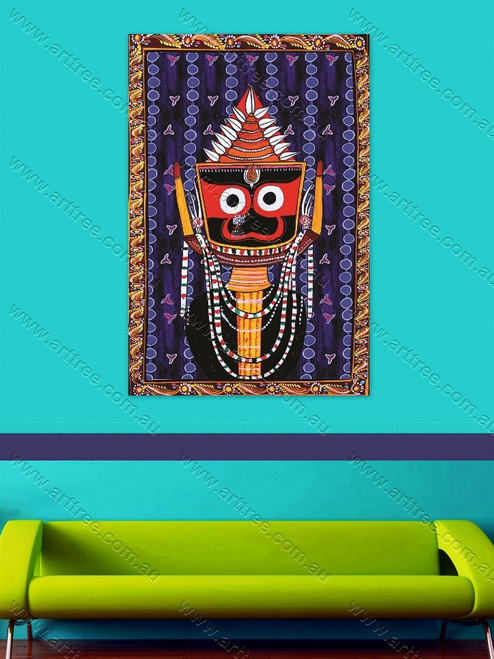 Indian Jagannath God