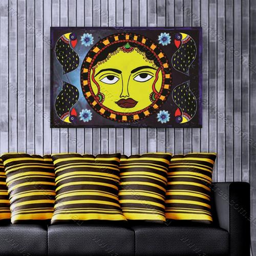 Madhubani Sun Art