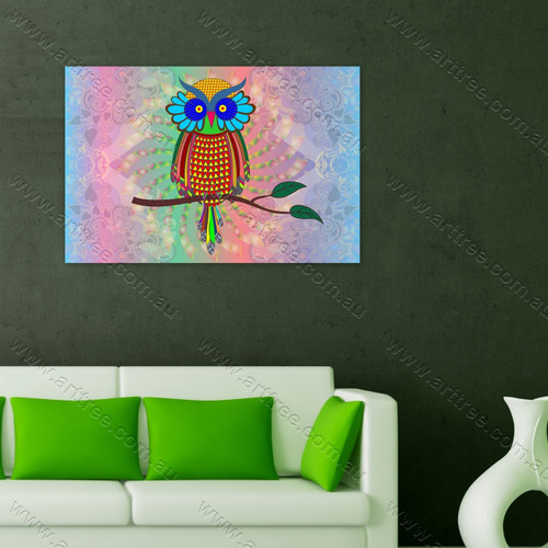 Owl Bird Print