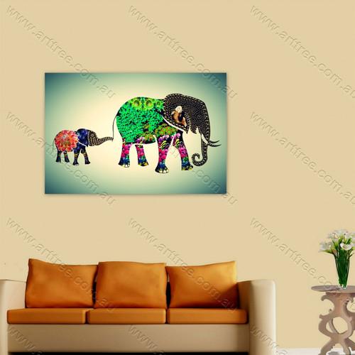 Elephant & Baby Elephant