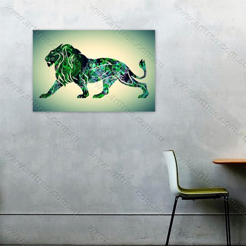 green lion - arttree