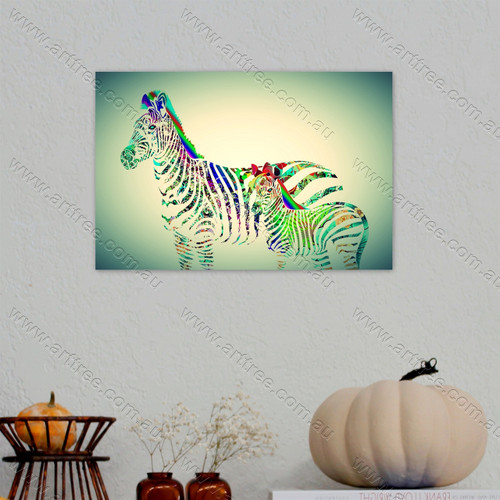 Zebra with Baby Zebra