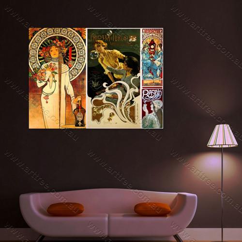 CHIOZZA E TURCHI Vintage Poster Collage