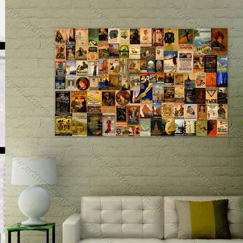 Verona Vintage Poster Collage