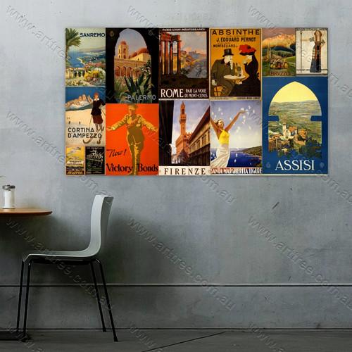 Victory Bonds Vintage Poster Collage
