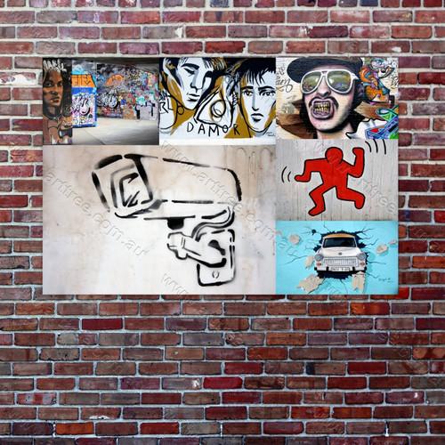 Damor Urban Graffiti Collage