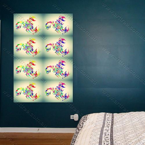 Colorful Scorpion Pop Art
