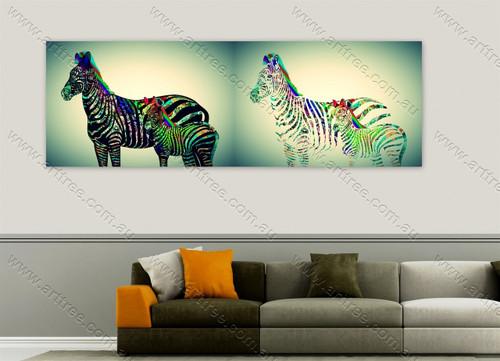 Zebra Pop Art