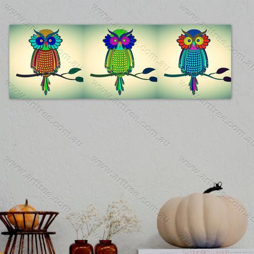 Classic Owl Pop Art Collage
