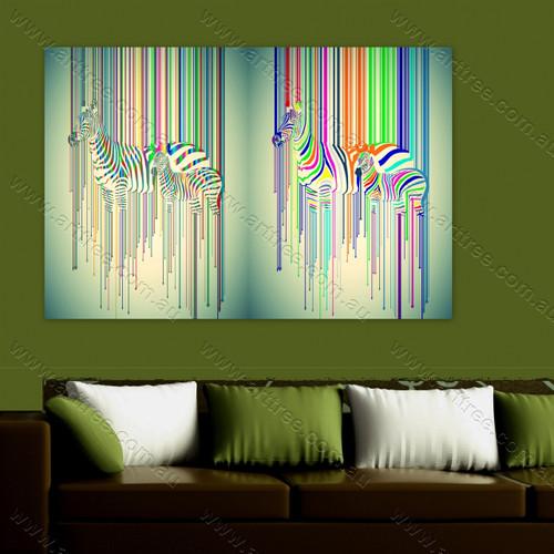 Zebra Animal Collage