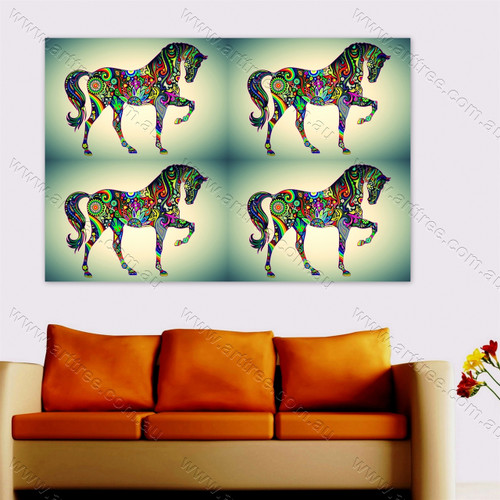 Colorful Horse Design