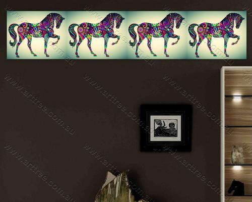 Green Base Horse Design 02