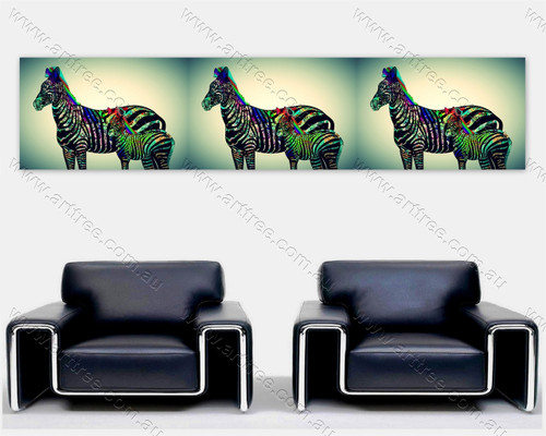 Zebra Print Collage