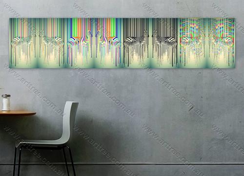 Abstract Zebra Design