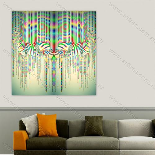 Zebra Print Collage 01