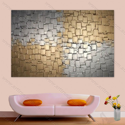 Grey Golden Tiles