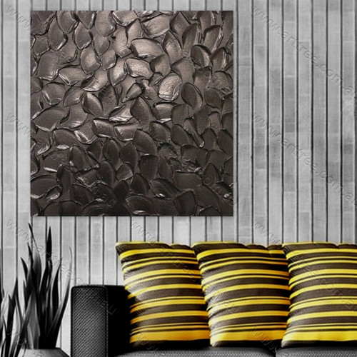 Brown Texture Painting