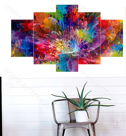 Abstract Floral Art