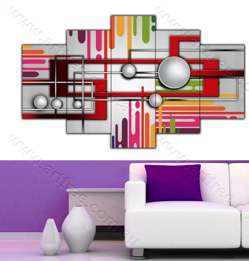 Abstract Geometric Art