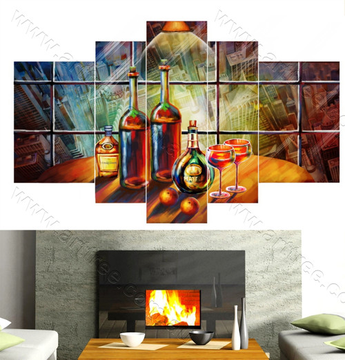 Table Canvas Print
