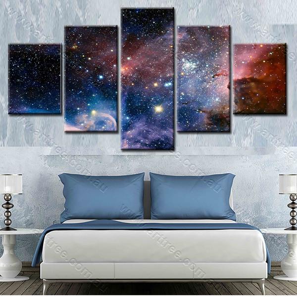 Universe Design Canvas Print