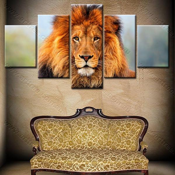 Jungle King lion
