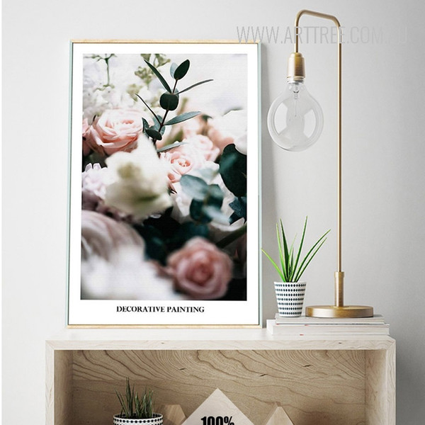Decorative Painting Style Digital Print