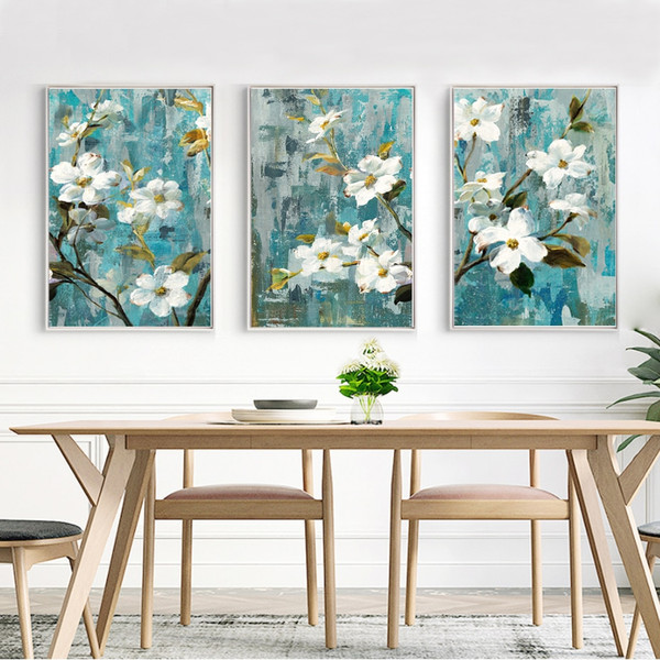 White Buttercup Floral Wall Art