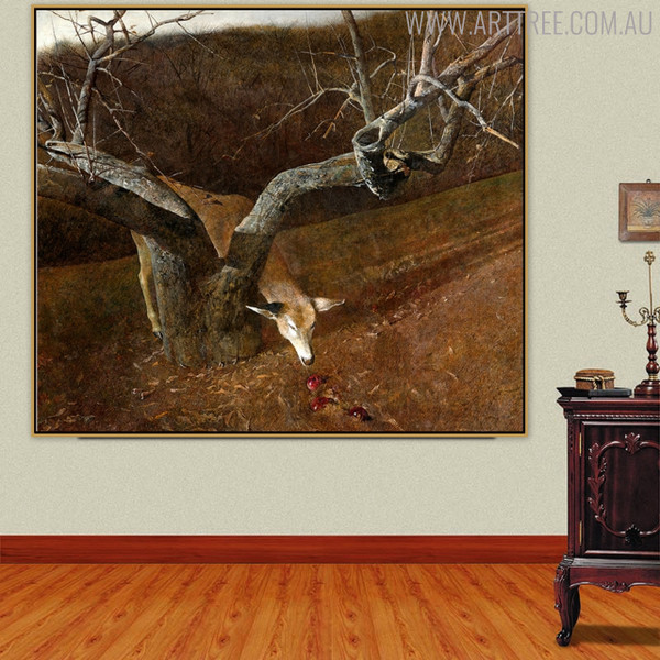 Jacklight Famous Artists Animal Still Life Landscape Scandinavian Painting Print for Room Wall Ornament