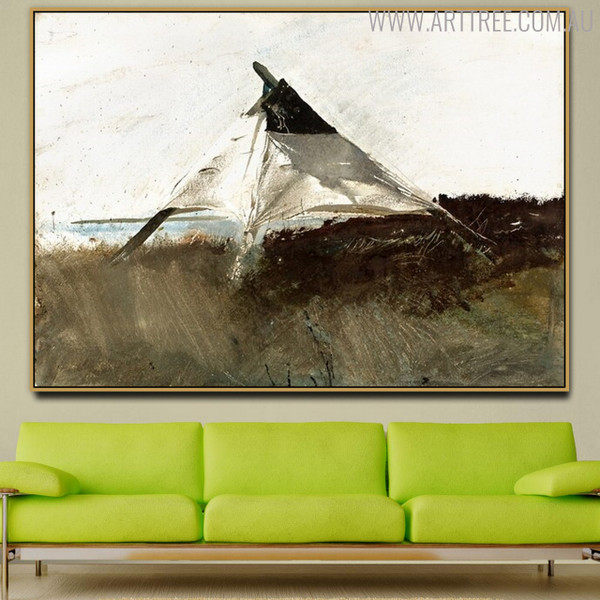Coastal Survey Famous Artists Still Life Scandinavian Painting Canvas Print for Living Room Wall Ornament