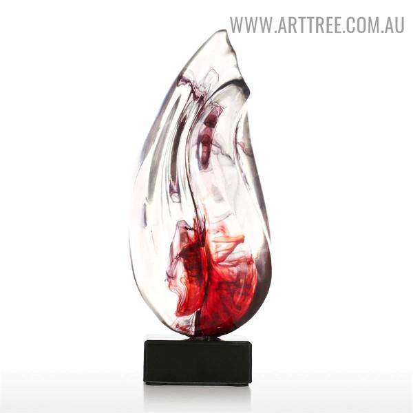 Transparent Dewdrop Resin Material Contemporary Sculpture