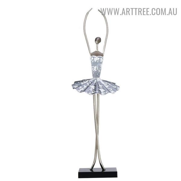 Ballerina Dancer Figurine Sculpture
