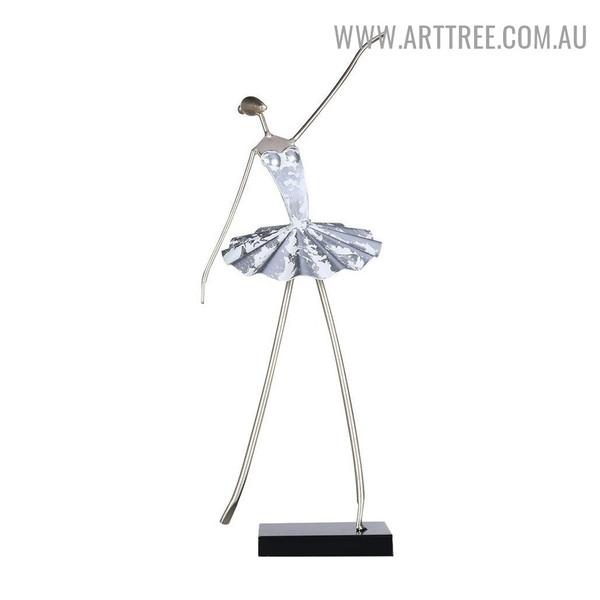 Ballerina Statue Figurine Sculpture