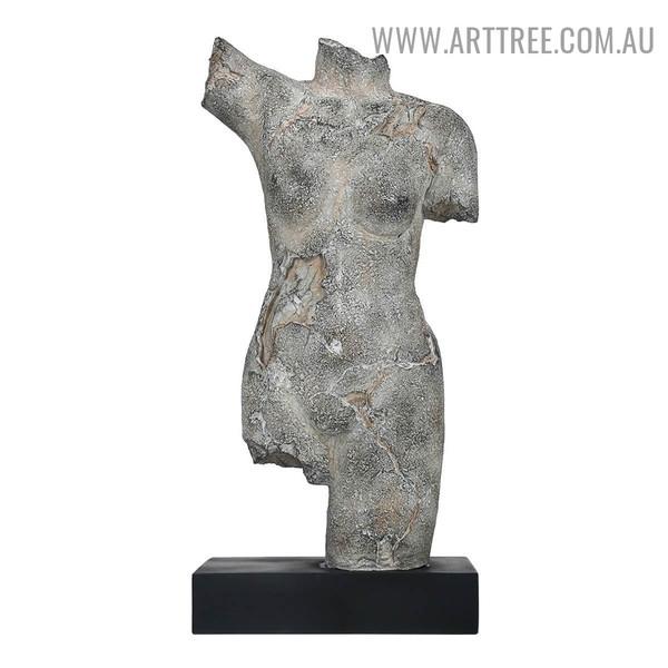 Female Body Figurine Resin Sculpture