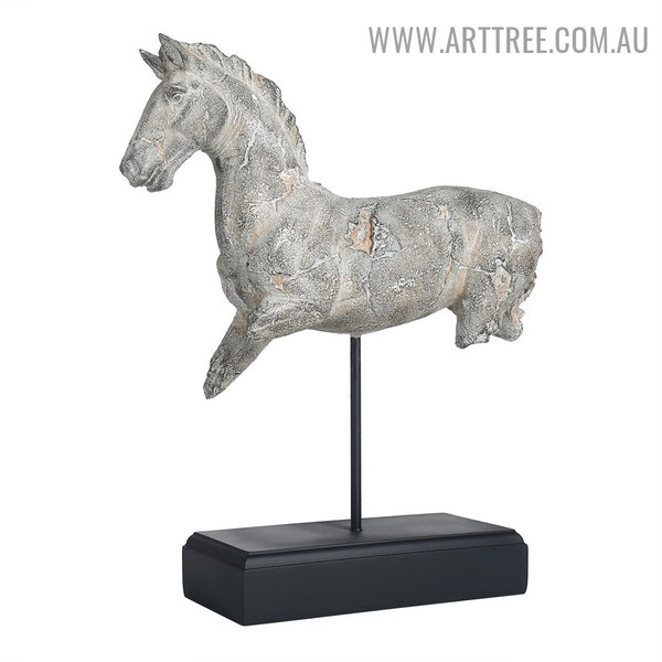 Incomplete Horse Animal Sculpture
