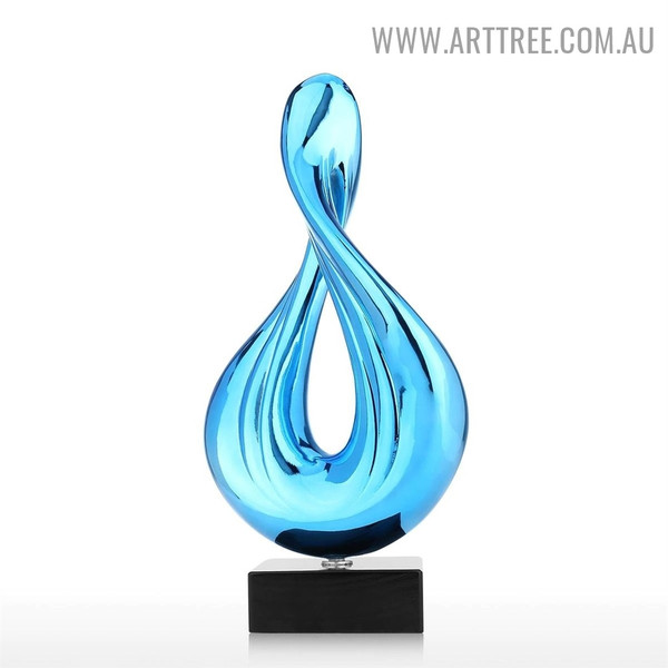 Water Drop Abstract Resin Home Decor Sculpture Australia