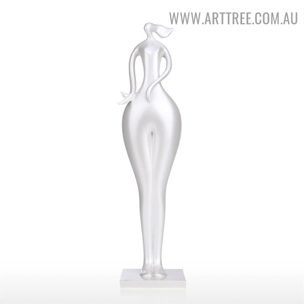 White Lady Figurine Modern Resin Material Statue Online