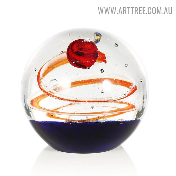 Star Ball Statue Glass Sculptures for Sale in Australia