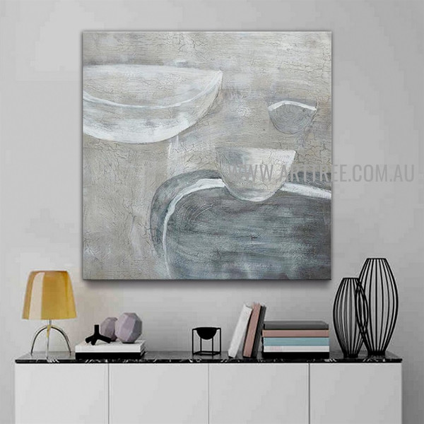 Sinuate Artist Handmade Abstract Canvas Art Painting For Room Wall Disposition
