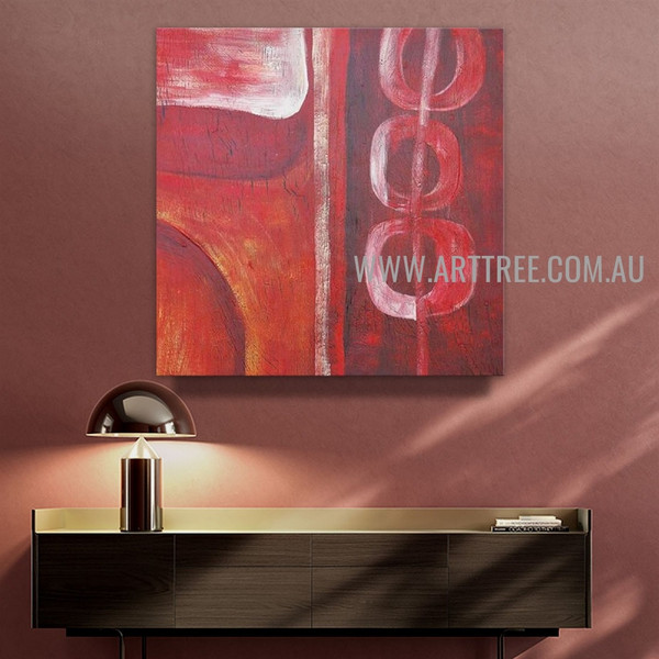 Tortuous Abstract Artist Handmade Contemporary Art Painting For Room Wall Decor