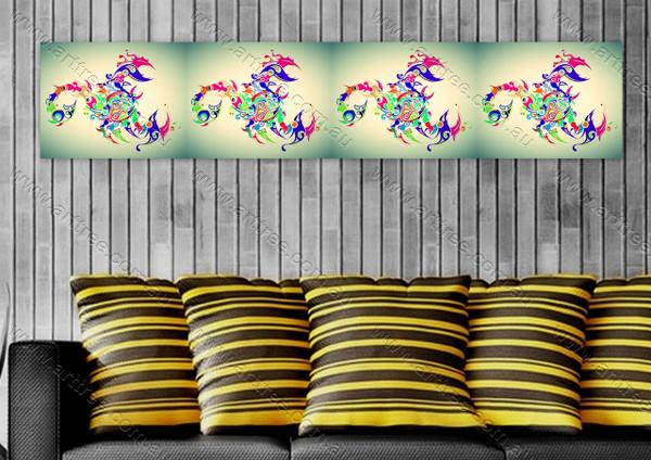 Scorpio Print Collage