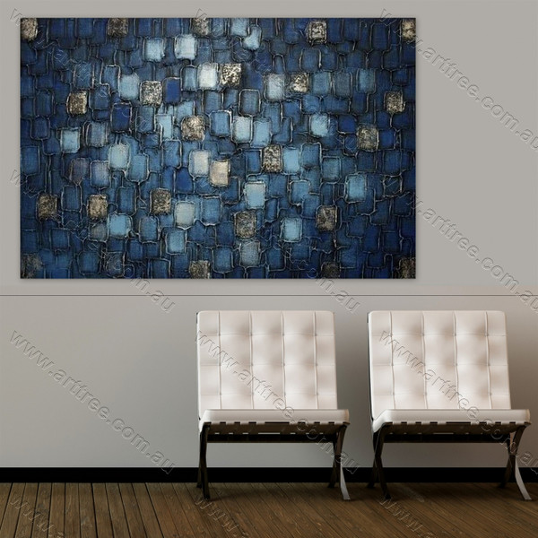 Blue Stone Art