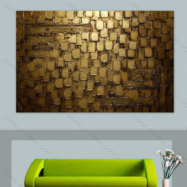 Brown Brush Art