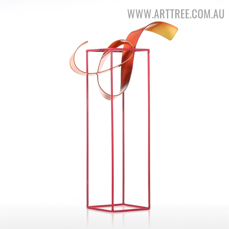 Bud Freestanding Abstract Modern Decorative Sculpture