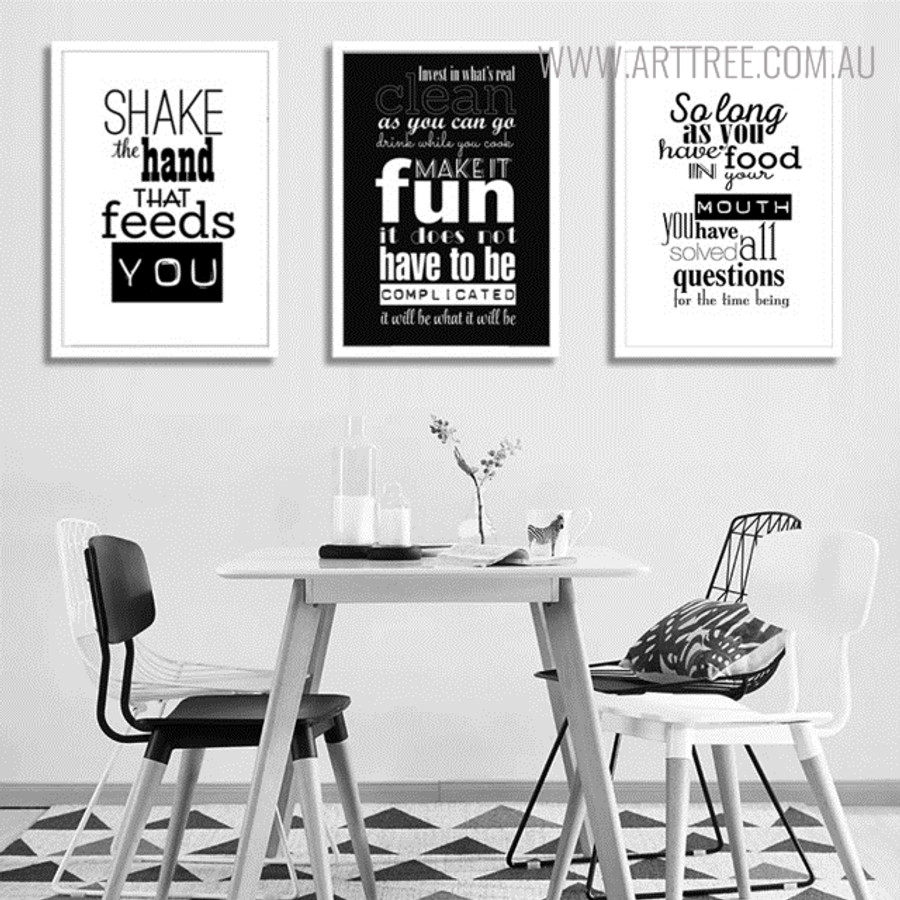 Make it Fun Quotes Wall Art for Living Room Decor